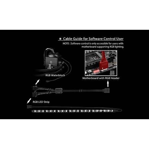 DEEP COOL CAPTAIN120EX RGB INTEL AMD SIVI SOÐUTUCU
