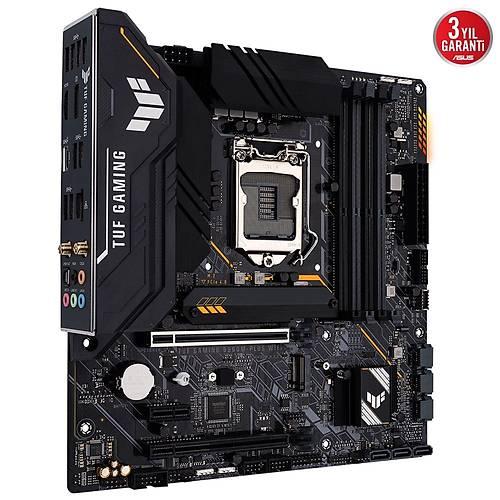 ASUS TUF GAMING B560M-PLUS WIFI DDR4 5000 (OC) /2133 MHz mATX 1200p