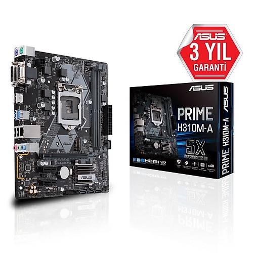 ASUS PRIME H310M-A R2.0 DDR4 2666MHz mATX 1151p