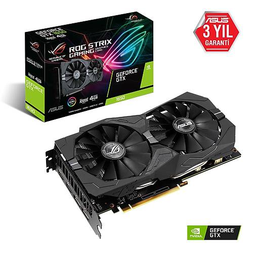 ASUS ROG-STRIX-GTX1650-A4G-GAMING DDR5 128Bit HDMI