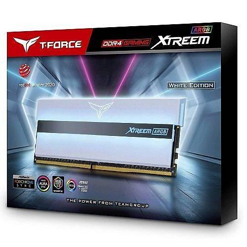 16 GB DDR4 4000Mhz T-FORCE XTREEM ARGB WHITE 8GBx2