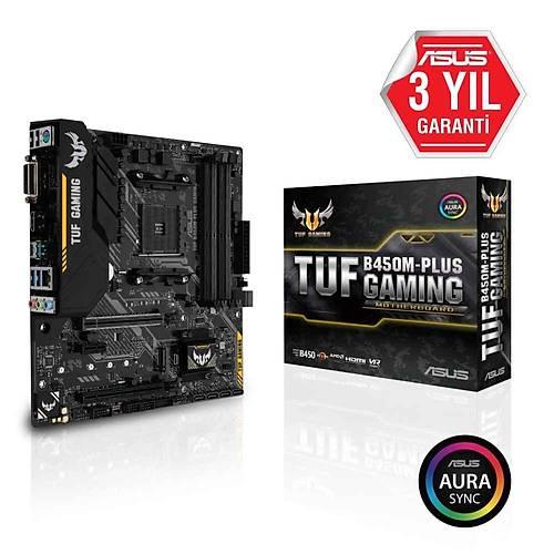 ASUS TUF B450M-PLUS GAMING DDR4 AURA RGB MATX