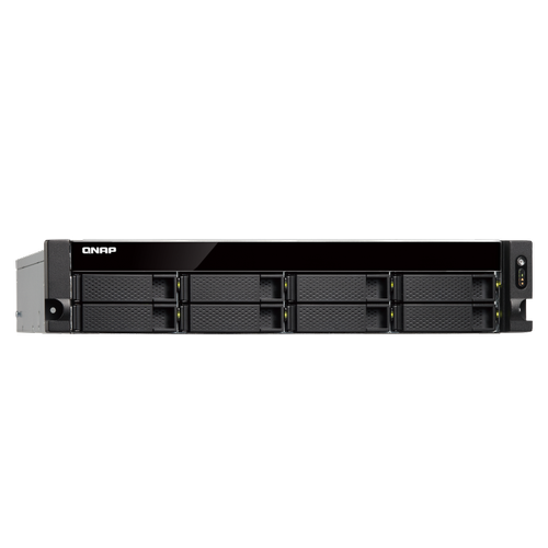 QNAP TS-832XU-RP 8 YUVALI NAS KAYIT CÝHAZI (4GB DDR3L RAM)