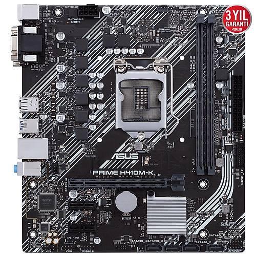 ASUS PRIME H410M-K DDR4 2933/2133 MHz DVI-D mATX 1200p