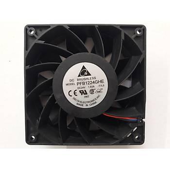 Delta Brushless 24V 1.62A DC Fan (120x120x38)