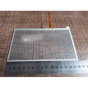 16.4x10cm 7inç 4 Telli Dokunmatik Cam