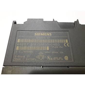 Siemens Simatic S7-314 PLC