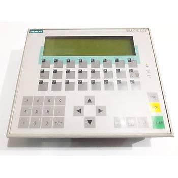 Siemens Op 17 DP 6av3 617-1jc20-0ax1 Operatör Paneli