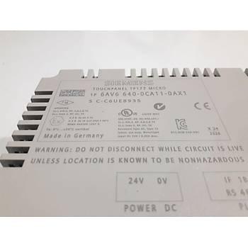 Siemens TP177 Micro 6av6 640-0ca11-0ax1 Operatör paneli