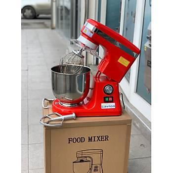 Lavion B8 Pro- 7 Litre Set Üstü Food Mikser Hýz Kontrollü Kýrmýzý
