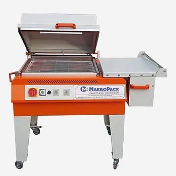 Makropack Kapaklý Shrink Makinesi - 50*60 Cm