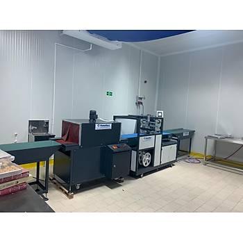 Makropack Tam Otomatik Sürekli Kesim Shrink Ambalaj Makinesi
