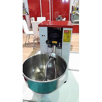 Dev Mikser 15 Kg Devirmeli Hamur Yoğurma Makinesi Ayarlanabilir Mil Çıkan Kazan