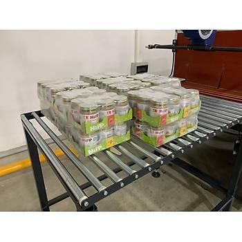 Makropack PE60 Polietilen Shrink Ambalaj Makinesi Yarý Otomatik
