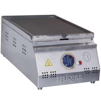 Silver 30 Cm Elektrikli Döküm Izgara