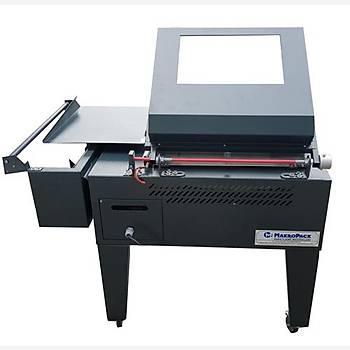 Makropack Manuel Kapaklý Shrink Ambalaj Makinesi - 50 x 60 cm