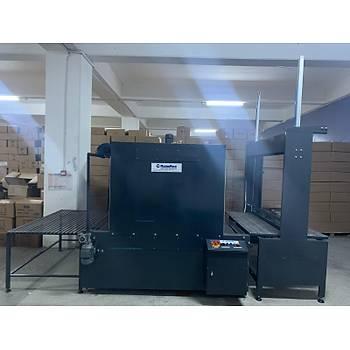 Makropack PE 160 Max Polietilen Shrink Ambalaj Makinesi Yarý Otomatik