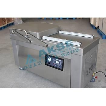 Propack 61 Cm Çift Oda Profesyonel Vakumlama Paketleme Makinesi 4 Çeneli
