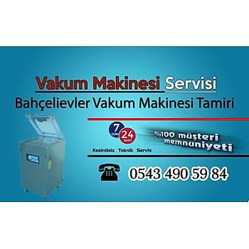 Ýstanbul Bahçelievlerde Vakum Makinesi Teknik Servisi - Tamiri