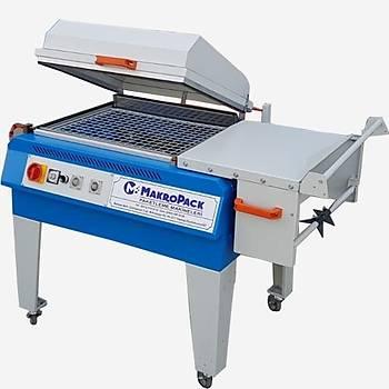 Makropack Manuel Kapaklý Shrink Makinesi - 50*60 Cm Mavi