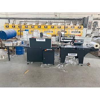 Makropack Yarý Otomatik Tünelli Shrink Ambalaj Makinesi Sýcak Çene