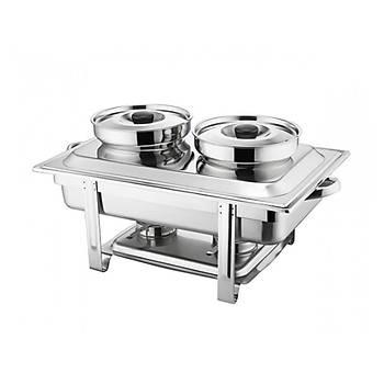 Arisco Yakýtlý Chafing Dish (Reþo) M21178