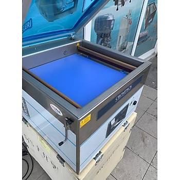 Crompack 48 Cm Çift Çene Gýda Vakum Paketleme Makinesi - Yerli Üretim