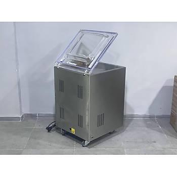 Makropack 51 Cm Çift Çene Ayaklý Vakum Paketleme Makinasi