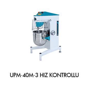 Bosfor UPM-40M Hýz Kontrollü 40 Litre Plnet Mikser