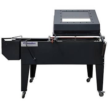 Makropack 7000 Model Kapaklý Shrink Makinasý 55*70 Cm