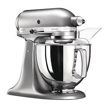 KitchenAid Artisan Stand Mikser, 4.8 L, Fýrçalanmýþ Nikel