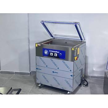 Makropack 50XL Cift Cene Vakum Makinesi 50*65 CM