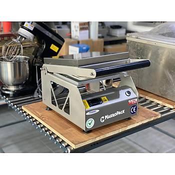 Makropack MP 350 Manuel Tekli Kase Tabak Kapatma Makinesi