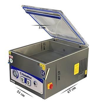 Makropack 45 Cm Tek Çene Set Üstü Vakum Makinesi Gýda Vakum Makinasý