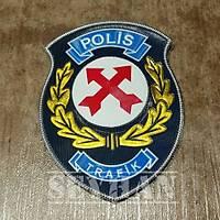 TRAFİK POLİSİ 3D KOL ARMASI