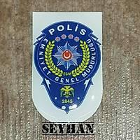Polis Şarjör Sticker