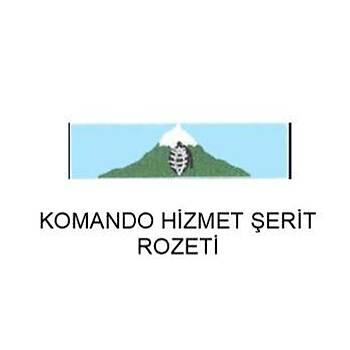 Komando Hizmet Þerit Rozeti