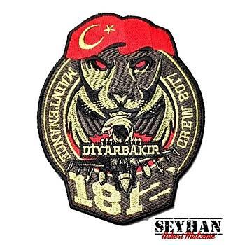 DÝYARBAKIR 181 - 182 FÝLO PEÇ - Arma - Askeri Patch