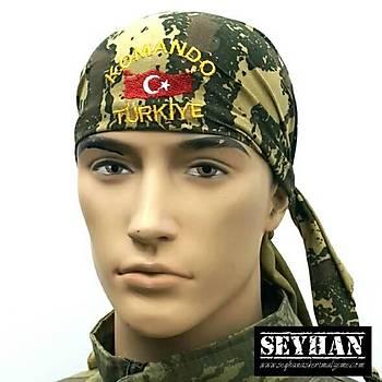 Komando Türkiye Bandana (Kamuflaj)