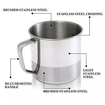 Paslanmaz çelik bardak