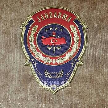 Jandarma Metalize Cüzdan Rozeti
