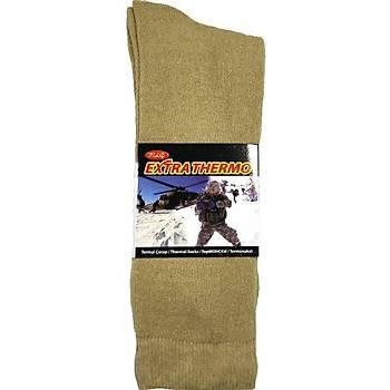 Askeri Kýþlýk Havlu Çorap Nano Yeþil