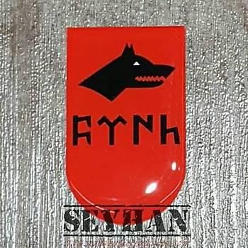 Göktürkçe TÜRK Þarjör Sticker