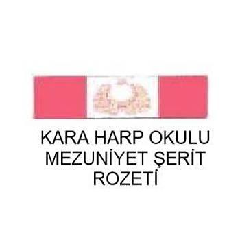 Harp Okulu Mezuniyet Þerit Rozeti (Kara Kuvvetleri)
