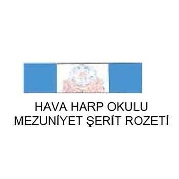 Harp Okulu Mezuniyet Þerit Rozeti (Hava Kuvvetleri)