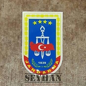 Jandarma Þarjör Sticker