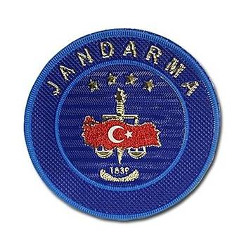 Jandarma Asayiþ Armasý Cýrtlý Patch, Askeri Peç
