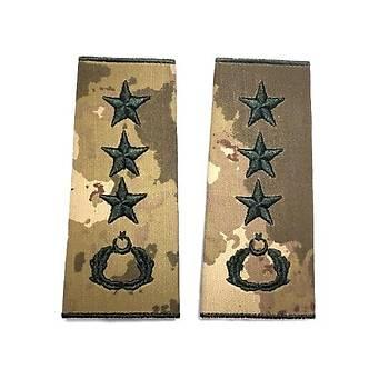 Albay Kamuflaj Rütbe (Kara Kuvvetleri Yeni Kamuflaj )