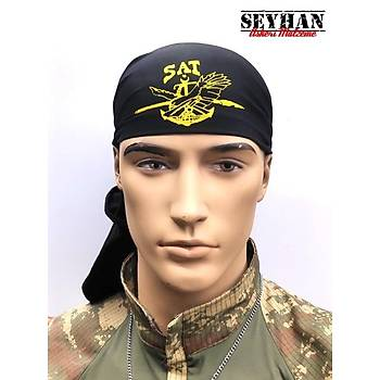 SAT Komandosu Siyah Bandana