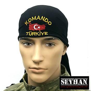 Siyah Komando BANDANA
